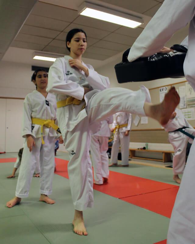 Taekwondo aloittaminen