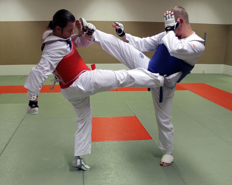 Taekwondo otteluharjoittelu